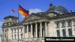 Здание парламента Германии.