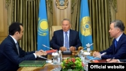 Карим Масимов, Нурсултан Назарбаев, Нурлан Нигматуллин