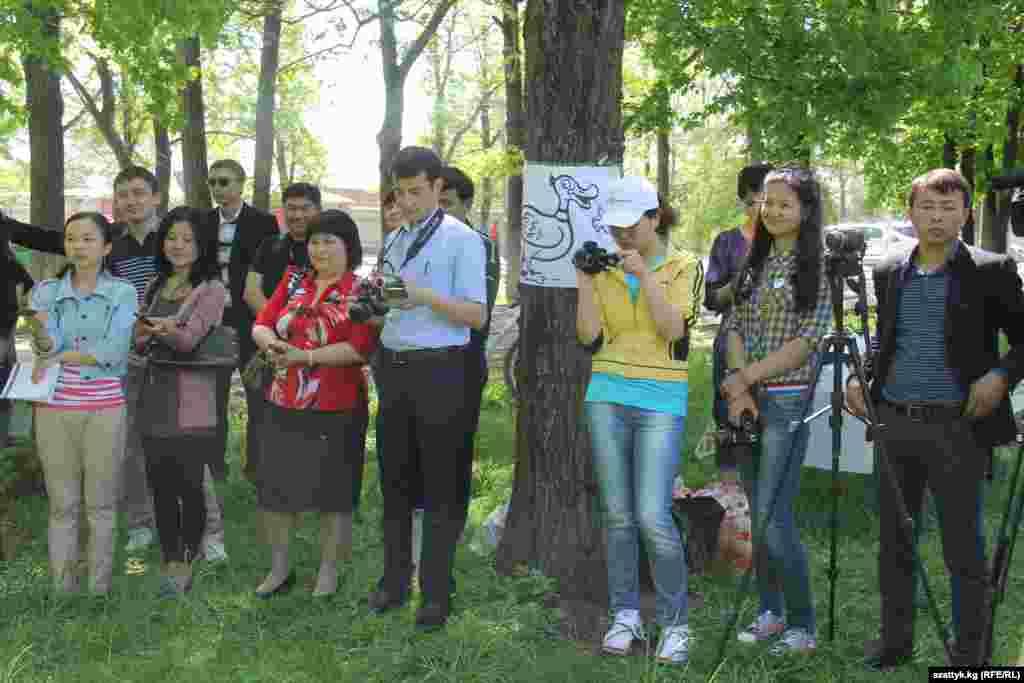 Акцияга 50дөн ашык журналист катышты.