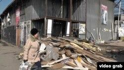 """""""Барахолканың"""" сүрілген қатары. Алматы, 13 наурыз 2015 жыл."""