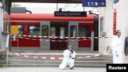 На вокзале Графинга