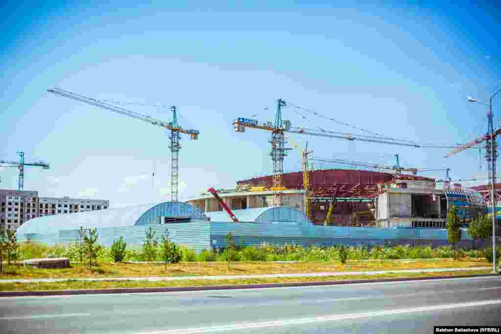Some $169 million has been allocated for the construction of the new ice-hockey stadium in Almaty's Alatau District