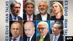 Участники международных переговоров по ядерной программе Ирана