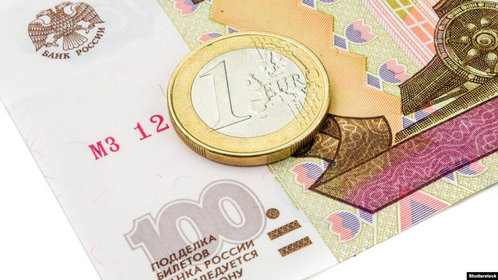 Курс російського рубля продовжує падати, незважаючи нанезначне зростання цін нанафту