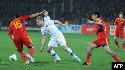 Դրվագ ֆուտբոլի Հայաստանի ազգային հավաքականի հանդիպումներից մեկից