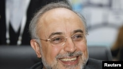 Iran's Foreign Minister Ali Akbar Salehi (file photo)