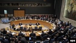 Diplomats gathered in the UN Security Council chamber on October 14 for a meeting related to recent reports about alleged war crimes in Gaza and Israel.
