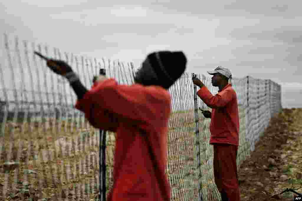Многие страны борются с бедностью по-разному. ЮАР, к примеру, поставила двухметровый забор на границе с Зимбабве — менее богатым соседом, чьи граждане регулярно пытаются нелегально попасть в Южную Африку.