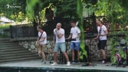 В Симферополе на набережной Салгира открыли «Причал добра» (видео)