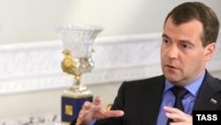 دیمیتری مدودیف، رئیس جمهور روسیه