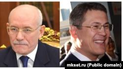 Рустэм Хамитов (слева), Радий Хабиров