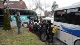 Premještanje migranata iz 'Vučjaka'