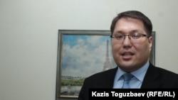 Бауржан Мусин, заместитель председателя комитета по делам гражданского общества. Алматы, 10 февраля 2017 года.