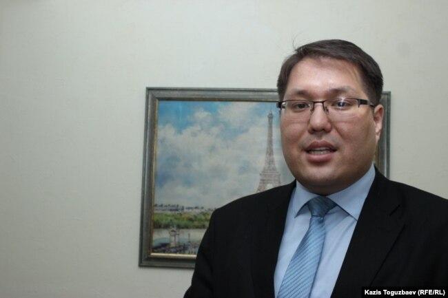 Бауржан Мусин, заместитель председателя комитета по делам гражданского общества министерства по делам религий и гражданского общества. Алматы, 10 февраля 2017 года.