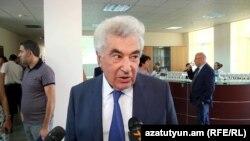 Председатель Высшего судебного совета Гагик Арутюнян, Ереван, 13 сентября 2018 г.