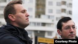 Александр Белов (Поткин) пен Алексей Навальный.