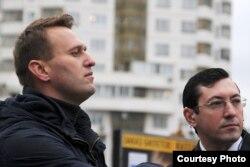 С Алексеем Навальным, 2011 год