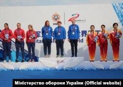 Українки не лише вибороли золоті нагороди, але й встановили рекорд