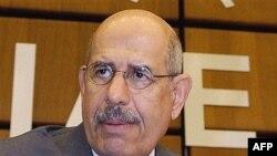 محمد البرادعی، مدير کل آژانس بين المللی انرژی اتمی، می گوید:مذاکره بهترين شيوه برای يافتن راه حل هاست.
