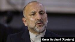 Ozalky milli howpsuzlyk geňeşçisi Hanif Atmar prezidentlik üçin bäsleşer.