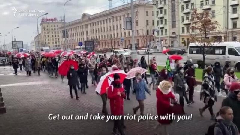 Lukashenka, Pompeo Speak By Phone As Belarusian Opposition Deadline Looms