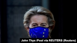 Ursula von der Leyen, președinta Comisiei Europene.