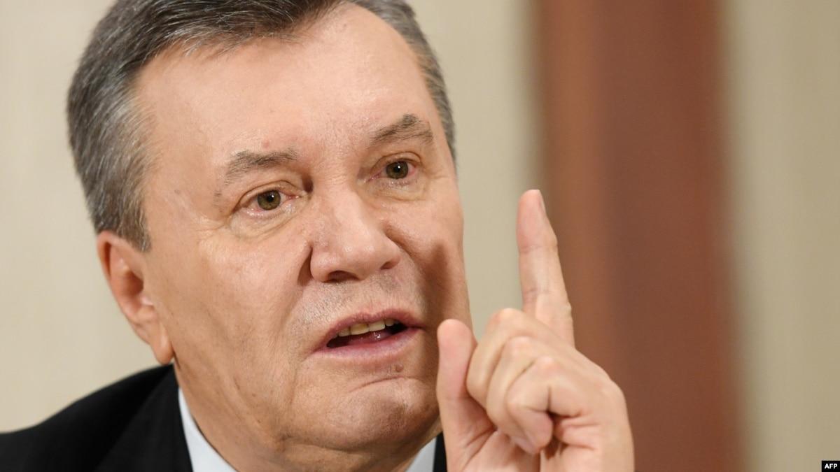 Former Ukrainian President Viktor Yanukovych Convicted Of Treason