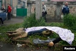 Вбитий під час збройних сутичок у Маріуполі, 9 травня 2014 року