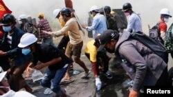 اعتراضهای ضد کودتای نظامی در میانمار