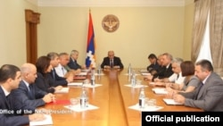 Фотография - пресс-служба президента Нагорного Карабаха