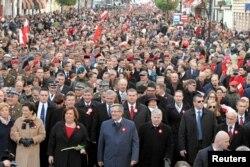 Марш на Дзень незалежнасьці Польшчы, архіўнае фота