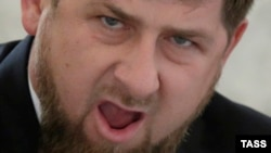 Шешенстан президенті Рамзан Қадыров.