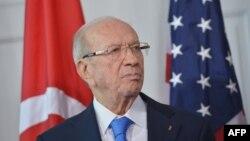 Presidenti i Tunizisë Beji Caid Essebsi