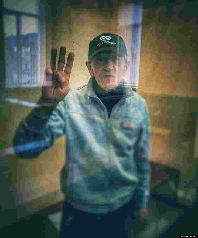 Олег Приходько на засіданні суду в Сімферополі 25 грудня 2019 року. У квітні 2020 його доставили в СІЗО Ростова-на-Дону