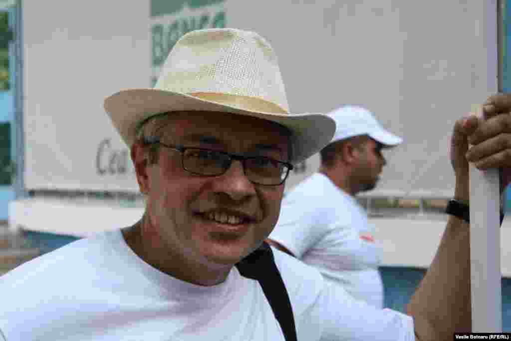 Scriitorul și jurnalistul Vitalie Ciobanu