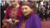 Ogulabat Eje, the mother of Turkmen President Gurbanguly Berdymukhammedov and the subject of a new song