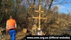 Эксгумация в Донбассе