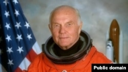 John Glenn also became the world's oldest astronaut in 1998 when he returned to space at the age of 77.