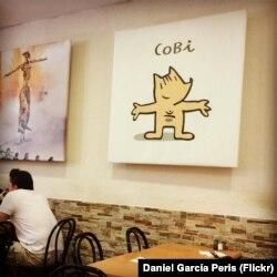 Коби – официальный талисман летних Олимпийских игр в Барселоне в 1992 году
