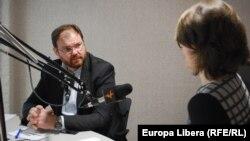 Sergiu Cioclea, intervievat de Valentina Basiul
