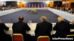 პრემიერ-მინისტრის შეხვედრა ბიზნესმენებთან