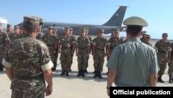 25 հայ զինծառայողներ մեկնում են ԱՄՆ՝ մասնակցելու վերապատրաստության դասընթացների, 4-ը օգոստոսի, 2016 թ․