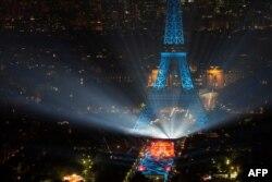 Фан-зона для болельщиков в Париже
