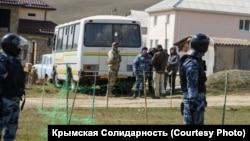 Обыск в домах крымских татар в Крыму, 27 марта 2019 года