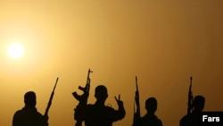 تمرین نظامی نیروهای بسیج در خوزستان