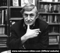 Виктор Некрасов. Фото с сайта www.nekrassov-viktor.com