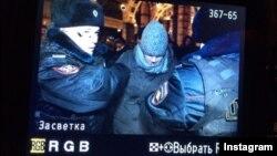 Задержание Алексея Навального 30 декабря 2014 года.