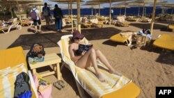 Jedna od hotelskih plaža u Egiptu