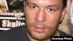 Uzbekistan -- Former heavyweight world boxing champion Ruslan Chagaev, undated