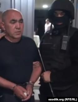 Задержание «Шухрата Домбрабадского».